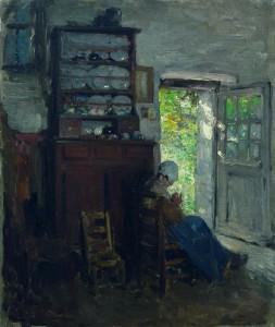 Nicolae Grigorescu, Interior breton