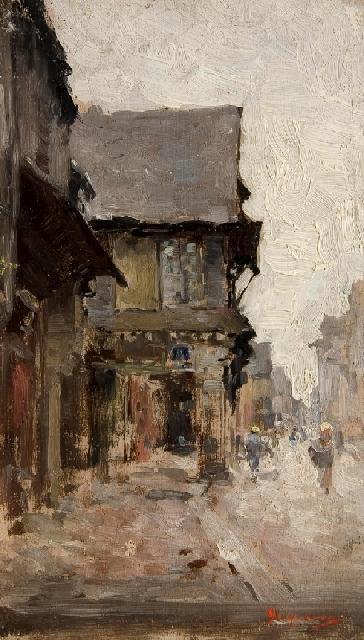 Nicolae Grigorescu - Case la Vitre