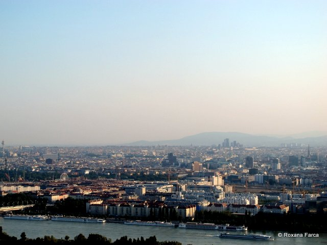 Viena vazuta din Donau Turm
