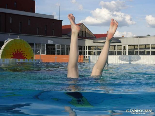 Pozitie normală în apă