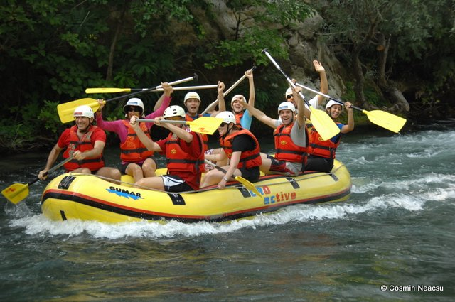 Rafting, barca noastra