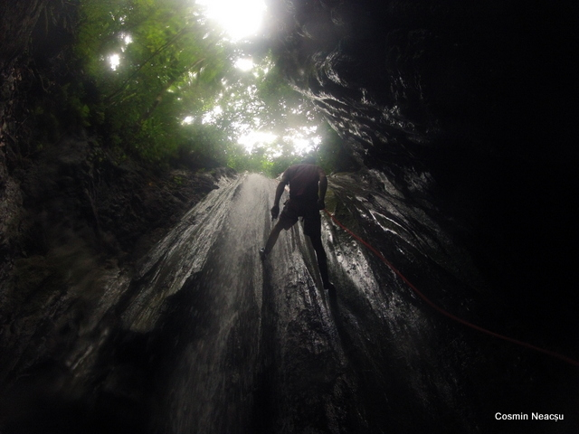 Rapel cascada El Remansa