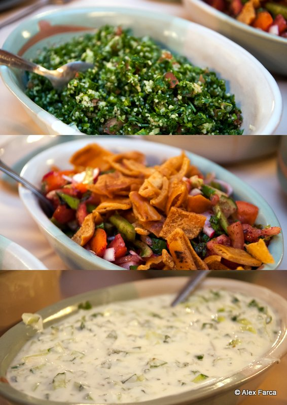 Fatoosh_Tabbouleh_Khyar_Petra Kitchen