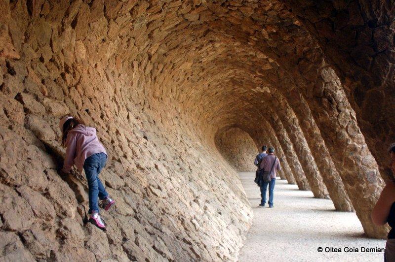 Parc Guell - semituneluri