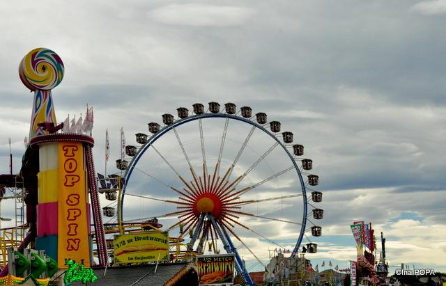 Top Spin la Oktoberfest Munchen