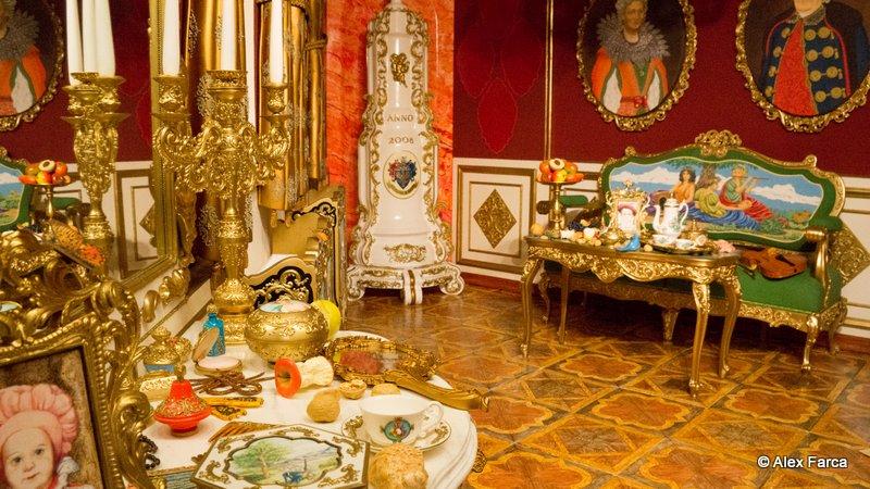 o camera făcută integral din marţipan