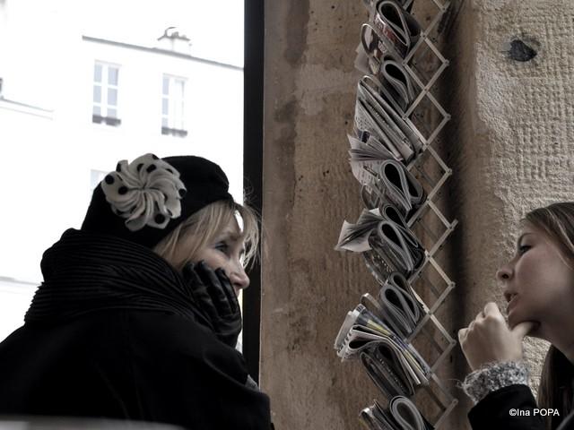 Montmartre, cafenea