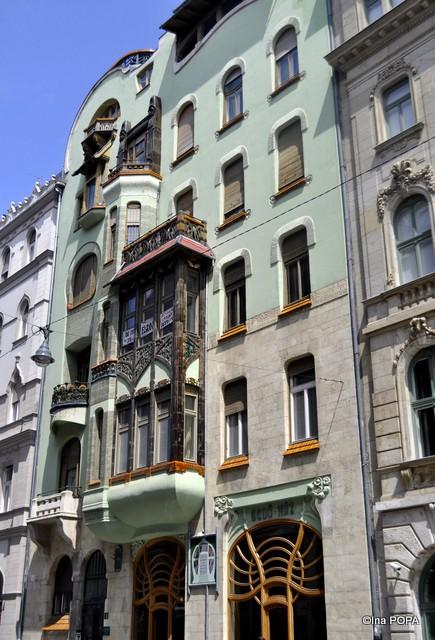 Bedo Haz Budapesta, cladirea Secesiunii