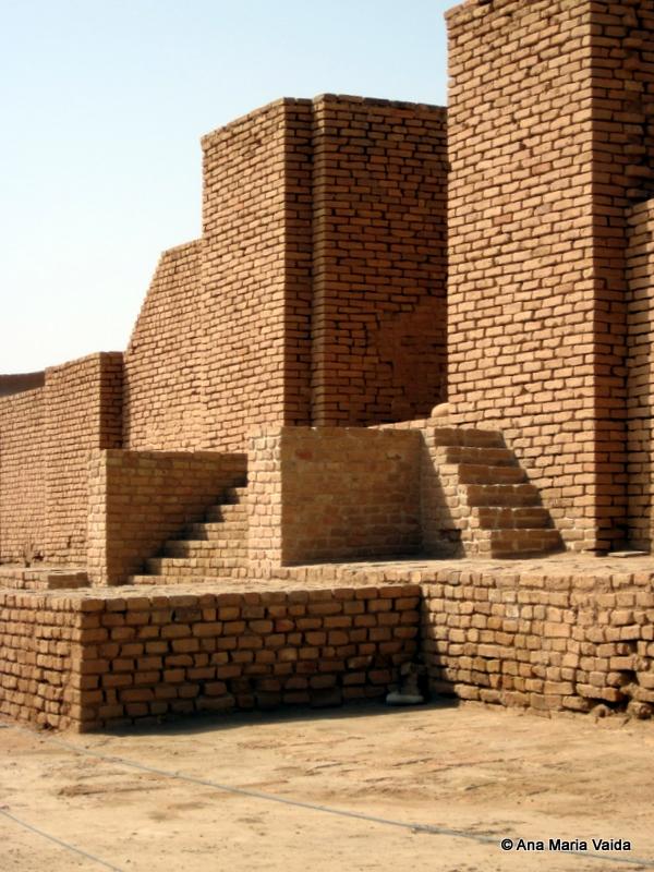 Detaliu zigurat