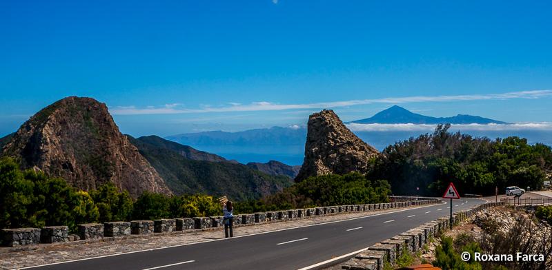 Teide vazut de pe insula La Gomera
