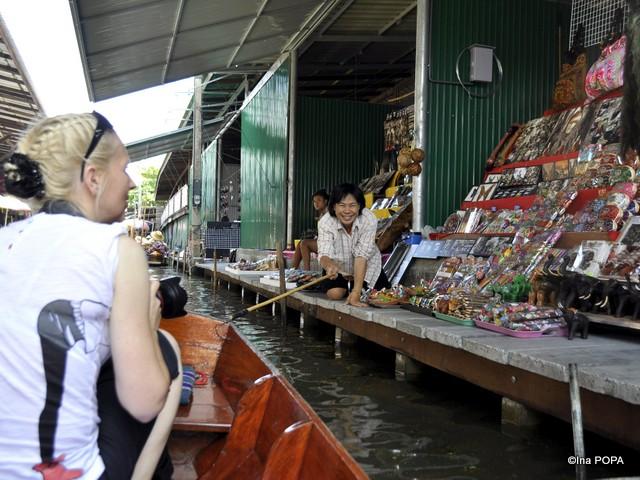 La pescuit de turisti