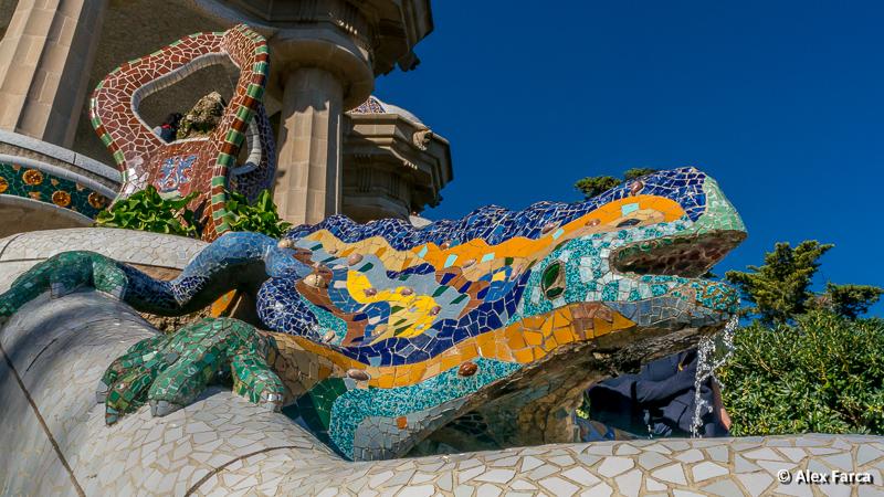 Barcelona - Parc Guel