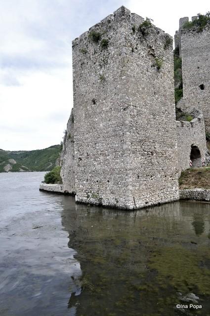 Cetatea Golubac - partea din apa