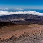 Deasupra norilor pe Vulcanul Teide, Tenerife