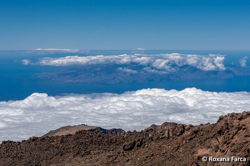 Priveliste de pe Vulcanul Teide, Tenerife