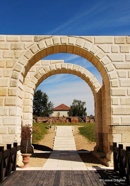 Cetatea Alba Carolina - Poarta castrului roman