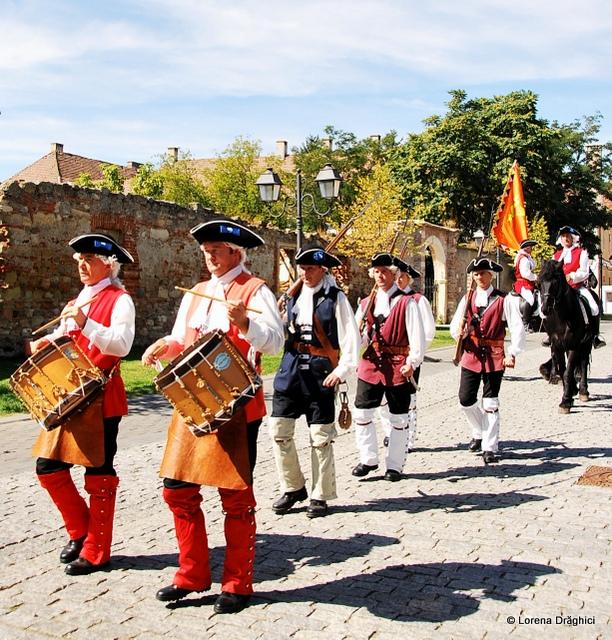 Cetatea Alba Carolina - schimbare garda 2
