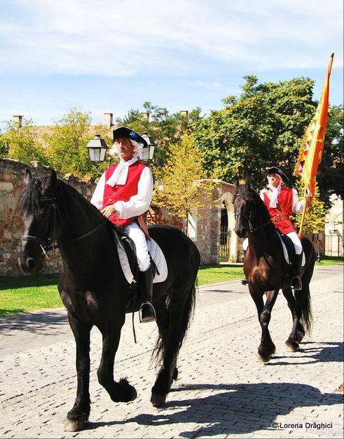 Cetatea Alba Carolina - schimbare garda 4