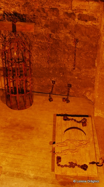 Cetatea Alba Carolina - temnita