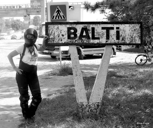 Mandra de dau in Balti