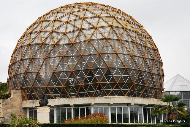 Gradina Botanica Jibou - cupola