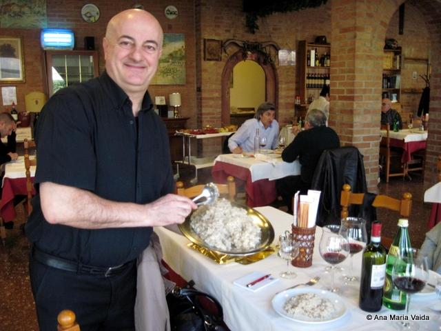 risotto servit de Roberto