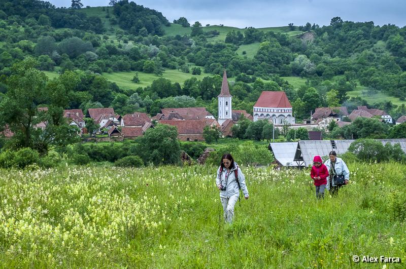 La pas prin satele săsești