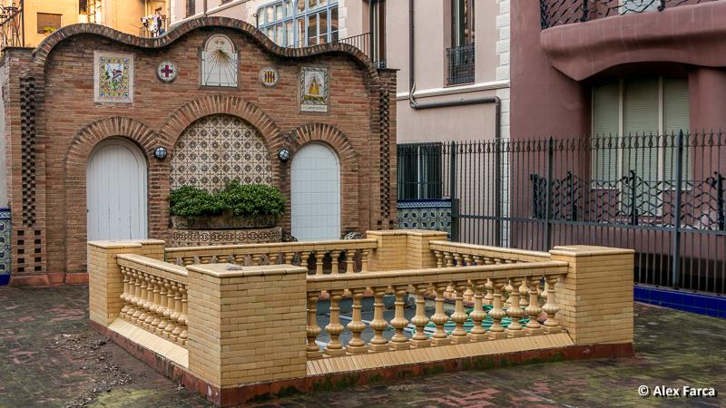 Magazinul Vincon, terasa