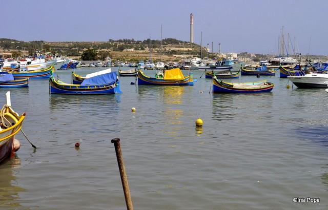Marxaslokk, sat de pescari.