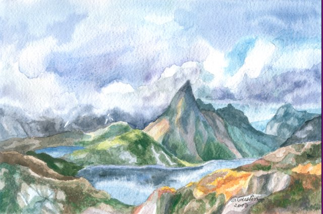 Peisaj munte 1
