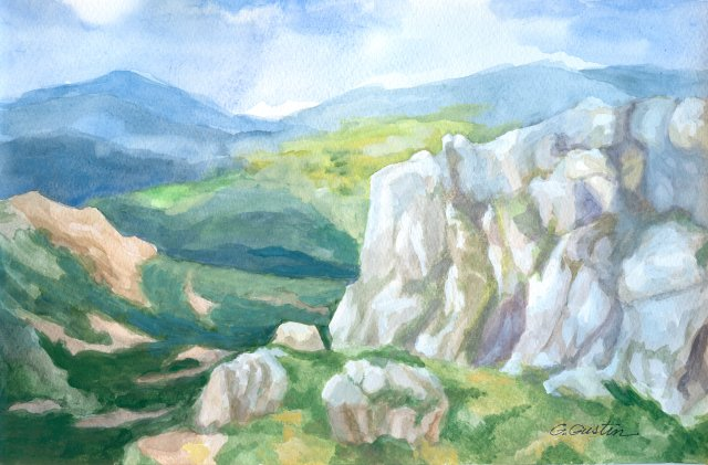 Peisaj munte 2