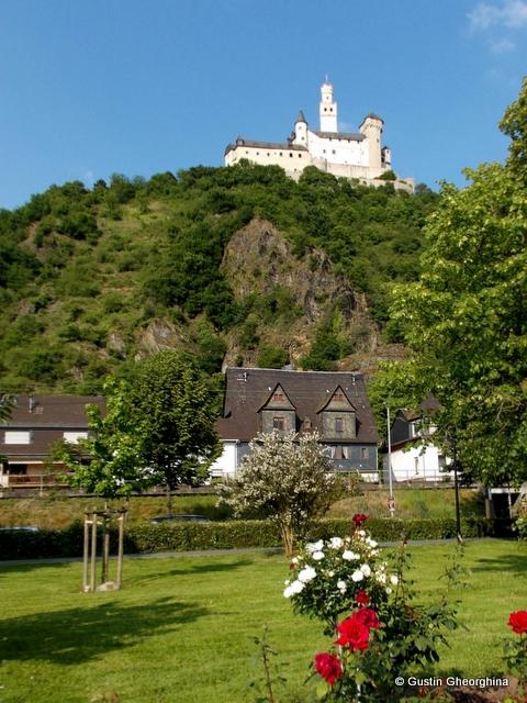 Braubach parc pe malul Rinului