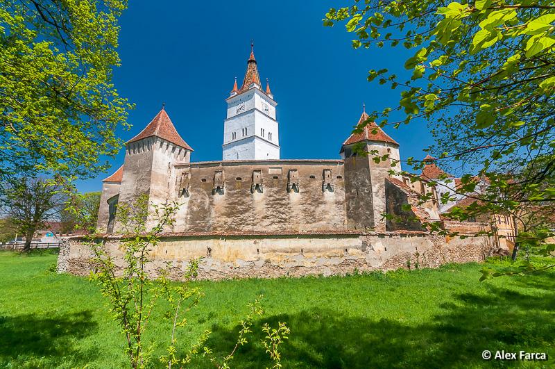 Biserica fortificată de la Hărman