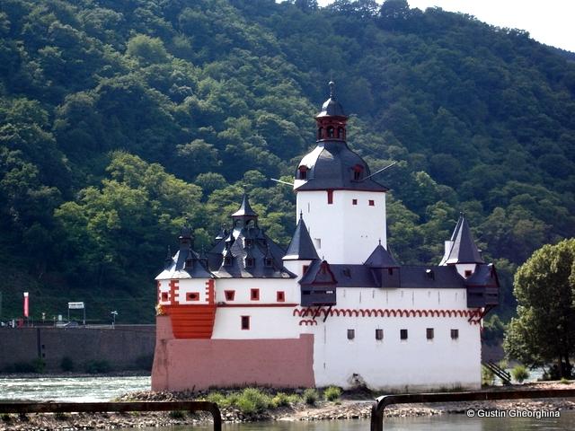 Kaub - Castelul Pfalz