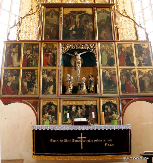 Biserica Biertan - altarul 2