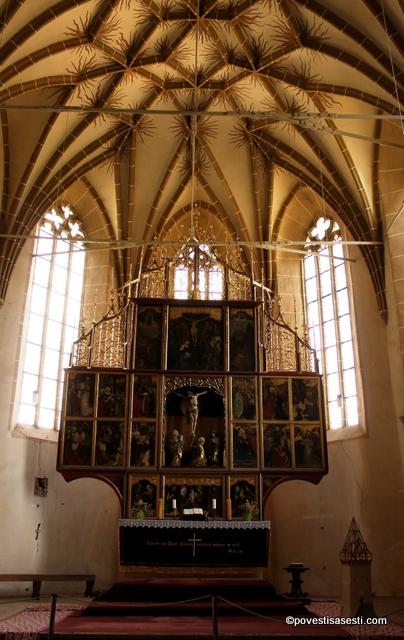 Biserica Biertan - altarul