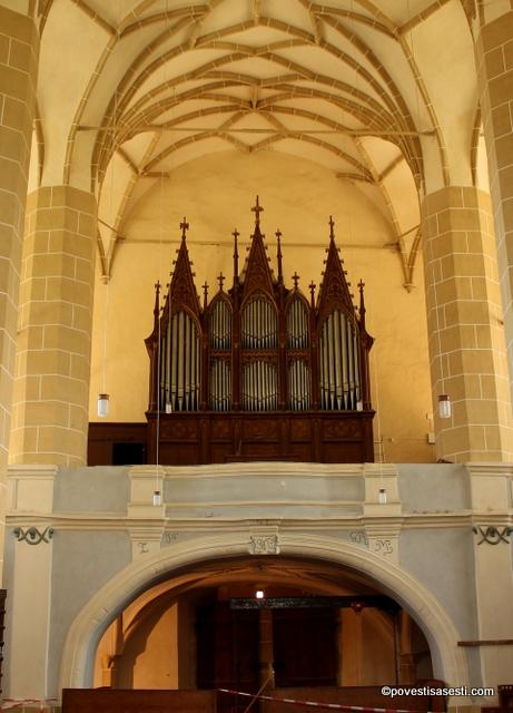 Biserica Biertan - orga