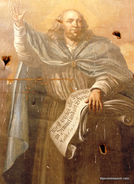 Biserica Biertan - pictura