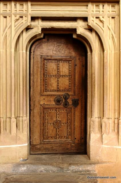Biserica Biertan - usa
