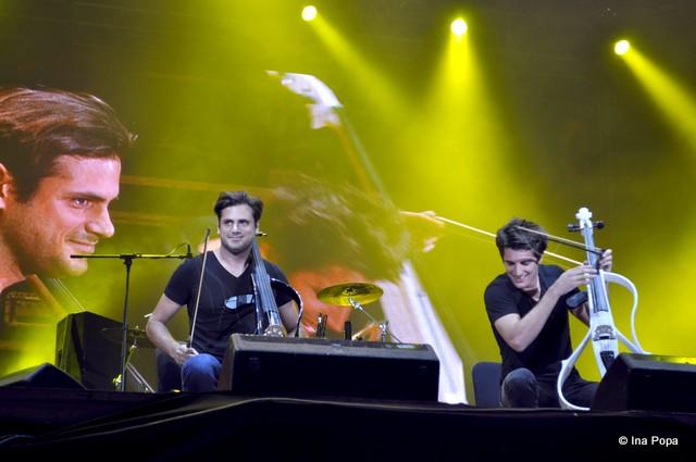 2 cellos la Exit Festival