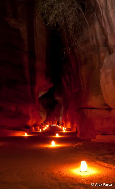 Intrarea in canion (Siq)