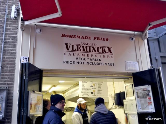 Cel mai bun loc pentru cartofi prajiti pe VOETBOOGSTRAAT