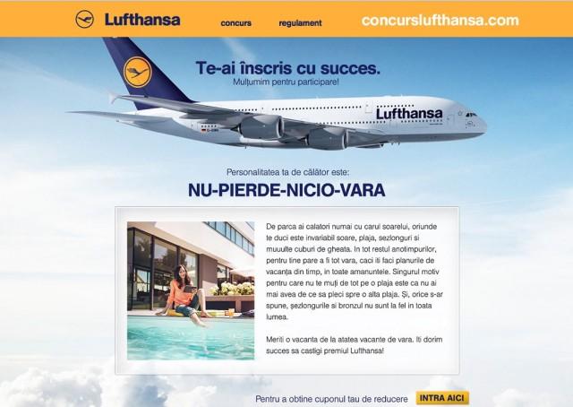 Lufthansa Alex