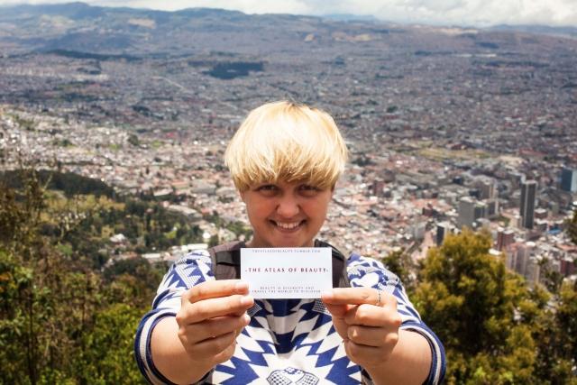 Mihaela Noroc in Bogota