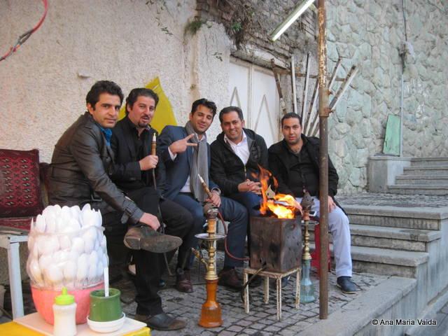 iranieni in ziua libera