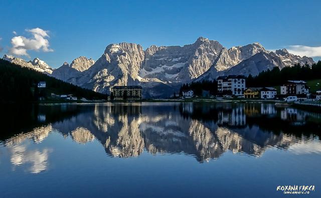 Dolomiti, lacul Misurina