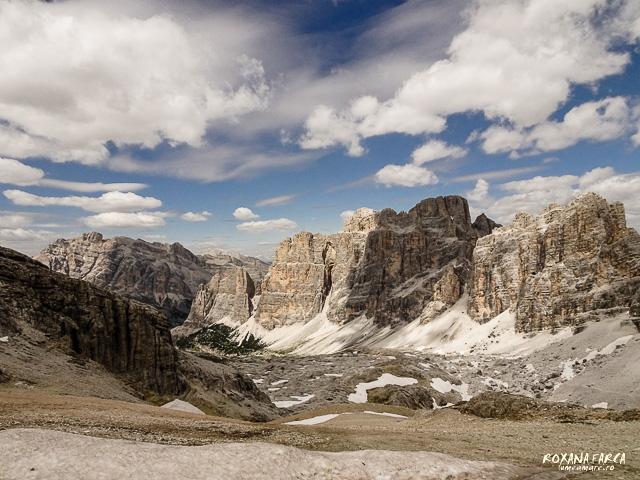 Dolomiti, vedere de pe Lagazuoi