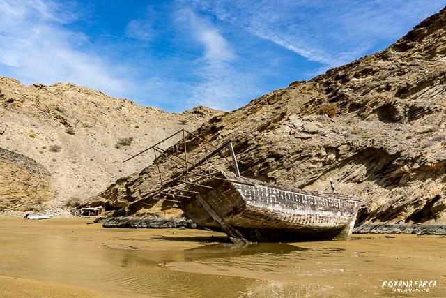 Oman, plaja intr-un golf