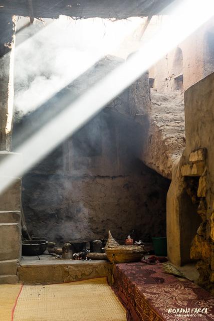 Oman, bucatarie in Al Hamra