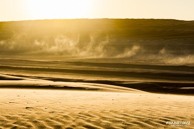 Oman, mica furtuna de nisip